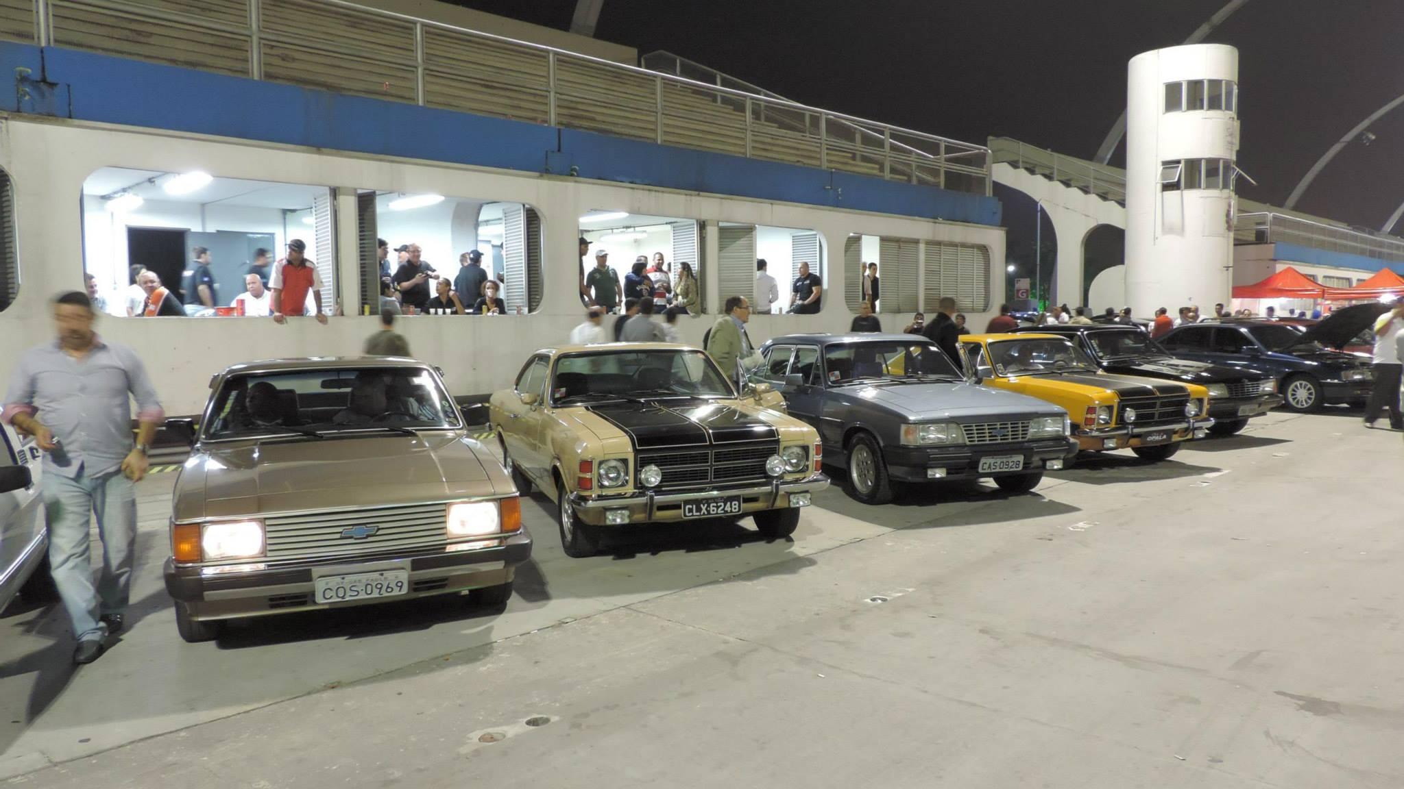 Noite dos Clubes Irmãos Chevrolet 2014 no Sambódromo do Anhembi