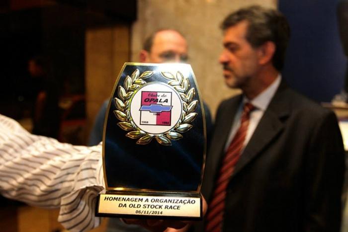 Troféu de Homenagem aos Organizadores da Old Stock Race