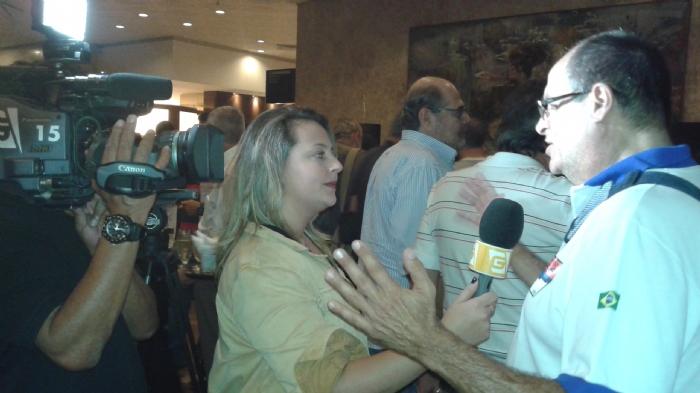 Entrevista para a TV Gazeta