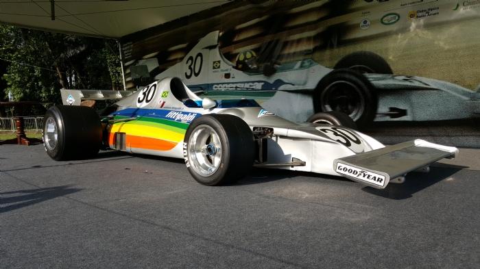 F-1 Coopersucar Fittipaldi única escuderia de fórmula 1 da América Latina.