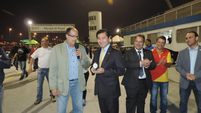 Homenagem ao Presidente da FBVA - Roberto Suga