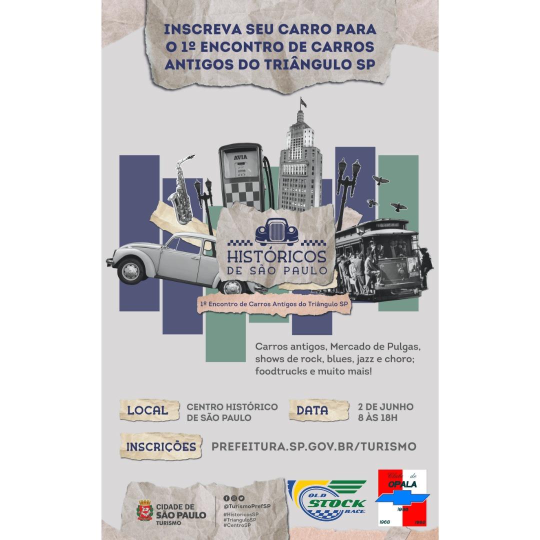 O Clube do Opala de São Paulo estará presente no